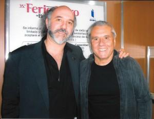 Con Fernando Bravo