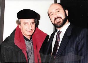 Con Santiago Bal