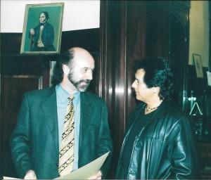 Con Victor Heredia 1