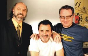 Junto al Director Carlos Sorin y axel kutchevasky