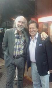 Con Edgardo Nievas